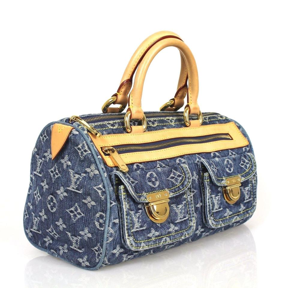 louis vuitton monogram denim monogram neo speedy shoulder bag on sale 61 off shoulder bags. Black Bedroom Furniture Sets. Home Design Ideas
