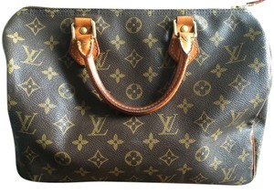 Louis Vuitton Speedy Speedy30 Vintage Satchel in Brown