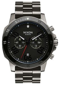 Nixon Nixon Men Gunmetal Analog Watch A549 1531