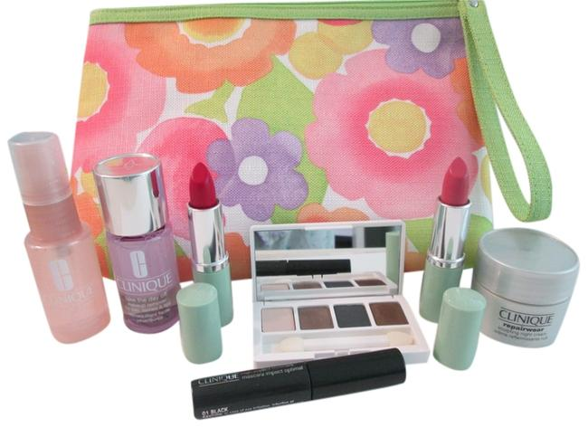 Item - Pink Lavender White Nwot Includes 1 Large Makeup and Skincare. Feature 2 Full Size Lip Sticks Cosmetic Bag