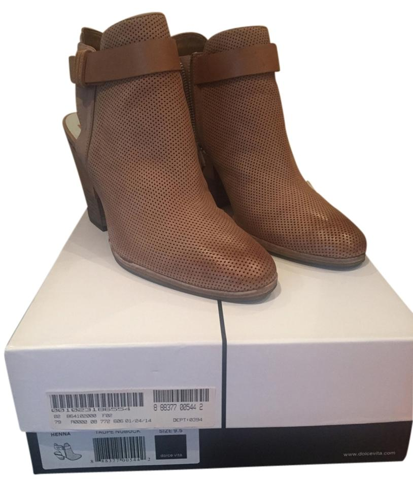 Dolce Vita Taupe Henna Henna Taupe Nuback Boots/Booties 404768