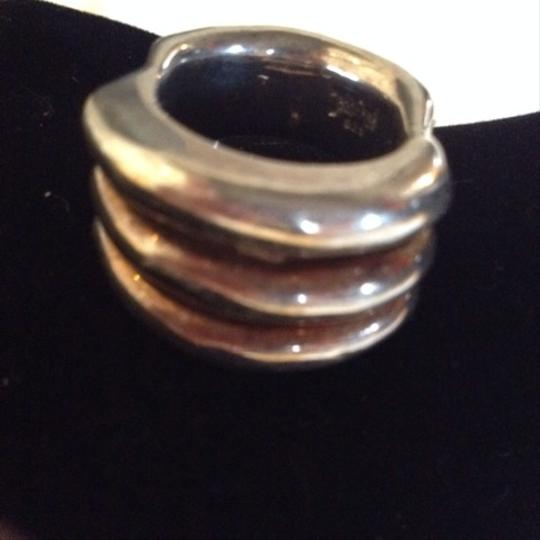Other Sterling Silver Vintage Dome Ring Size 7