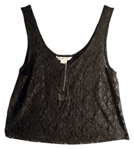 Candie's Lace Pretty Limited Edition Top black