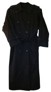 Burberry London Wool Convertible Extra Long Trench Coat