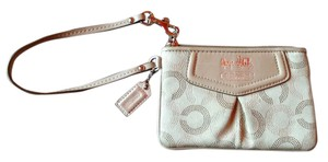 Coach Wallet Wristlet in Brown/Tan