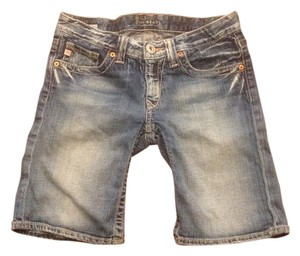 Big Star Sweet Distressed Denim Shorts-Distressed