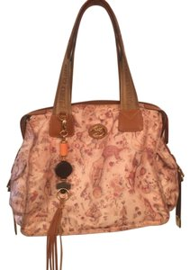 Piero Gudi Satchel in Tan/Multi