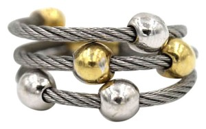 Charriol Charriol 18 Karat Two Tone Cable Coil Ring