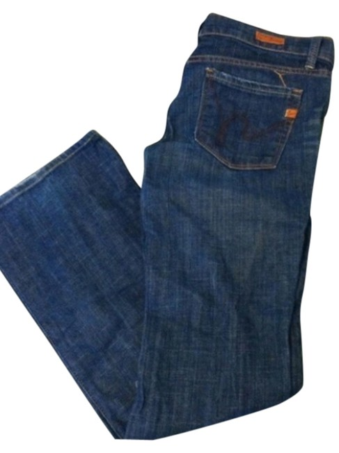 Citizens of Humanity Joes Lucky Boot Cut Jeans-Medium Wash
