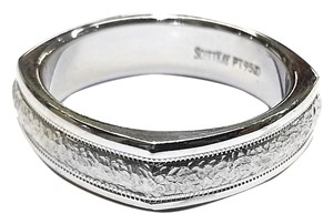 Scott Kay Scott Kay Men's Platinum (PT950) Wedding Band Size 10