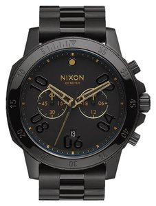 Nixon Nixon Unisex Black Analog Watch A549 010