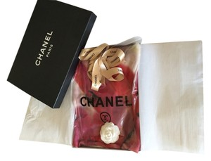 Chanel Chanel Floral Cashmere Scarf