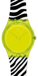 Swatch Swatch Women Yellow Analog Watch GJ131