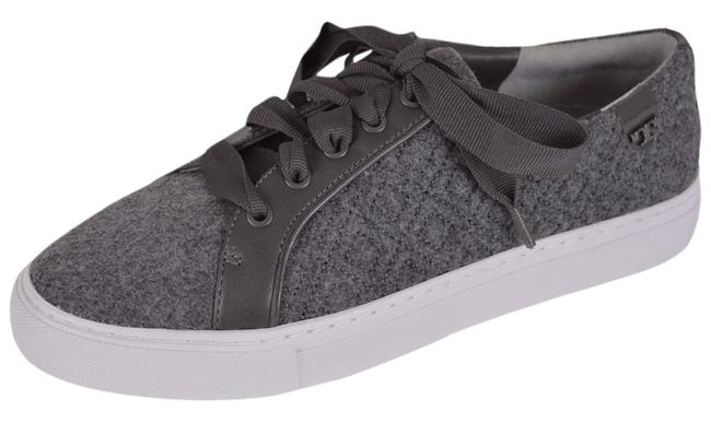 Item - Gray Marion T Women's Quilted Felt Logo Sneakers Size US 9.5 Regular (M, B)