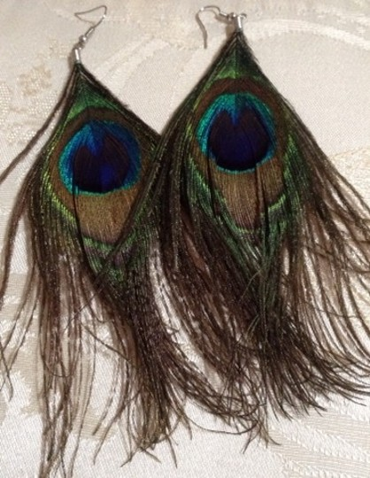 Other Peacock Earrings