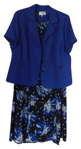 Studio One short dress Blue Multi on Tradesy