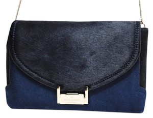 Kate Spade Suede Calf Hair Fall Winter Holiday Cross Body Bag