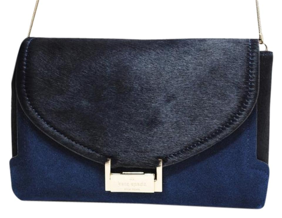 Kate Spade Suede Calf Hair Fall Winter Holiday Cross Body Bag Image 0 ... c1ce6a3d539c3
