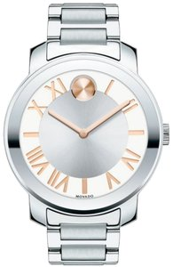 Movado Movado Bold Unisex Stainless Steel Watch, Swiss Movement, 39mm, 3600196