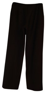 Bloomingdale's Wool Relaxed Pants Black