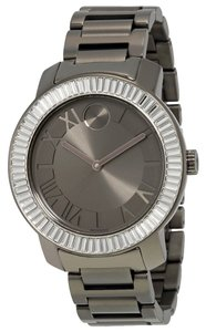 Movado Movado Bold Women's Gunmetal Bracelet Watch, Swiss Movement, 3600248