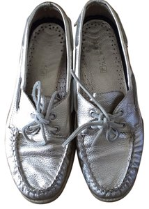 Sperry Bronze silver Flats