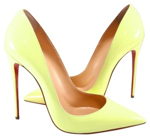 Christian Louboutin Neon So Kate 42 yellow Pumps
