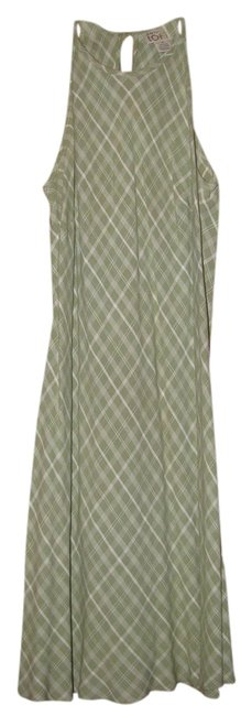 Ann Taylor LOFT short dress Green/white on Tradesy