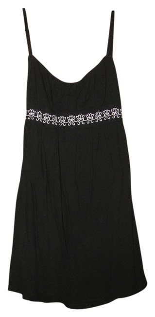 Becca by Rebecca Virtue White scalloped embroidered cover up dress