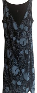 Laundry by Shelli Segal short dress Blue and black on Tradesy