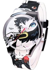 Swatch Swatch unisex Multi-Color Analog Watch SUOZ111