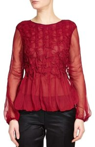 Max Studio (Leon Max) Top Burgundy