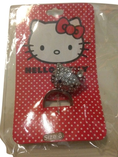 Hello kitty New Hot Topic Hello Kitty 3D Bling Ring size8