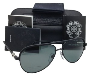 Chrome Hearts Polarized CHROME HEARTS Sunglasses PROBASSHOLE MBK-P Matte Black w/ Grey Mirrored