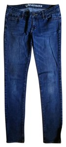 B hermosa Denim Skinny Jeans-Medium Wash