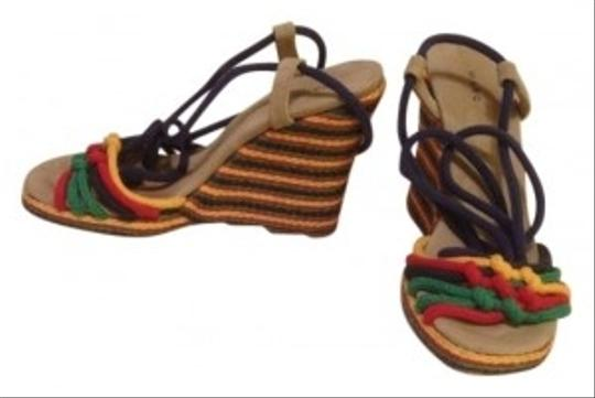 Marc Jacobs Multi-colored Wedges