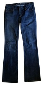 Guess Denim Premium Straight Leg Jeans-Dark Rinse