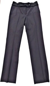 Prada Stripe Trouser Trouser Pants Black