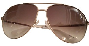 Marc by Marc Jacobs MARC by Marc Jacobs Gold Aviator Sunglasses Style: MMJ004/S J5G 02 135