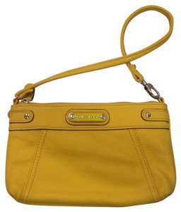 Franco Sarto Wristlet in Yellow