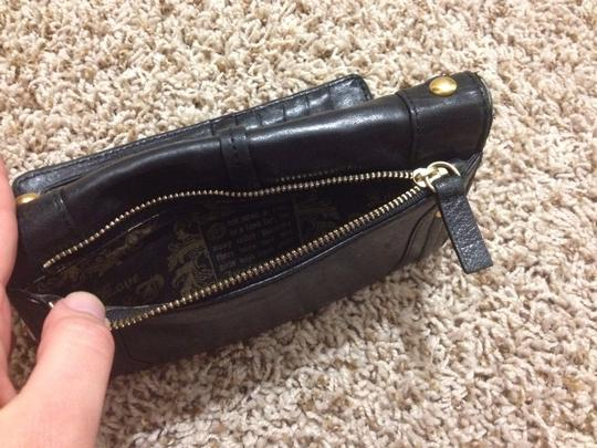 Juicy Couture Juicy Couture Black Patent Leather Wallet Clutch