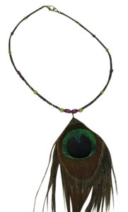 Other PEACOCK FEATHER NECKLACE