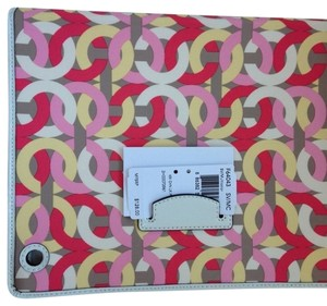 Coach Coach Kristen Op Art Ipad Case NWT