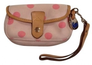 Dooney & Bourke Wristlet in Baby pink