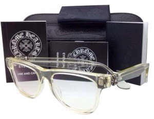 Chrome Hearts New CHROME HEARTS Eyeglasses HARD WC Clear - Buff Frame w/ Sterling Silver .925