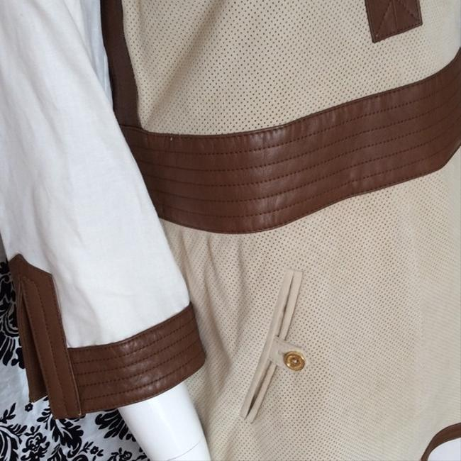 Tory Burch Suede Leather Florence Tunic