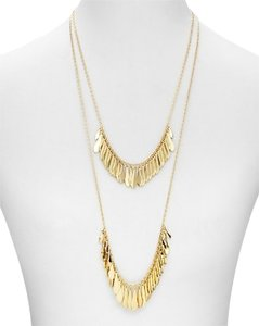 Kate Spade Sleek Flutter of Flouncing Ruffled Feathers *Kate Spade* Fancy Flock Long Necklace NWT Exquisite Design & Hand-Crafted Construction to Office to Evening Style!
