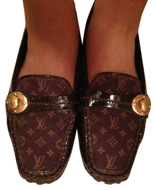 Item - Brown/Gold Formal Shoes Size US 7 Narrow (Aa, N)
