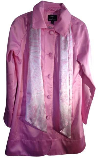 Preload https://item5.tradesy.com/images/pink-qvc-satin-spring-jacket-size-10-m-868914-0-0.jpg?width=400&height=650