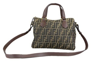 Fendi Speedy Boston Satchel in Brown